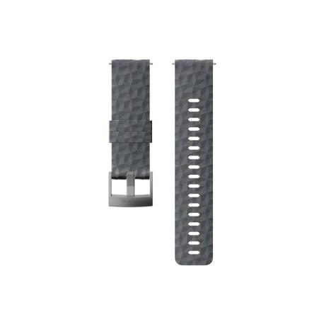 Suunto 24mm Explore 1 Silicone Strap Graphite Gray Size M