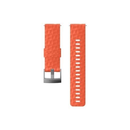 Suunto 24mm Explore 1 Silicone Strap Coral Gray Size M