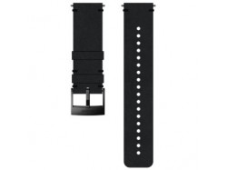 pasek do zegarka Suunto 24mm Urban 2 Leather Strap Black Black Size M