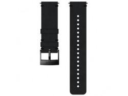 Suunto pasek do zegarka 24mm urban 2 leather strap black black size M