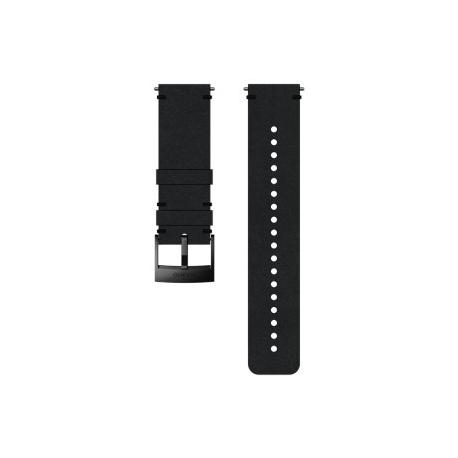 Suunto 24mm Urban 2 Leather Strap Black Black Size M