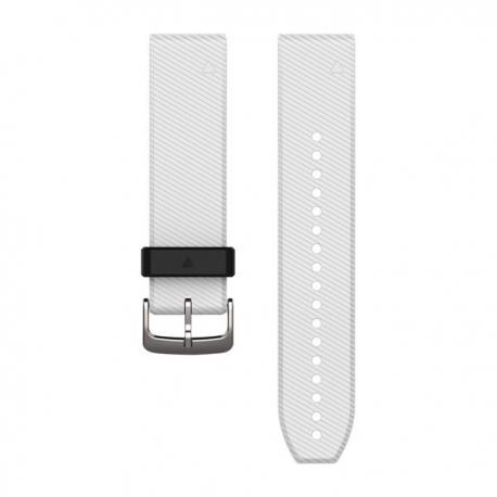 Silikonowy pasek QuickFit Fenix 5 Biało-czarny 22mm