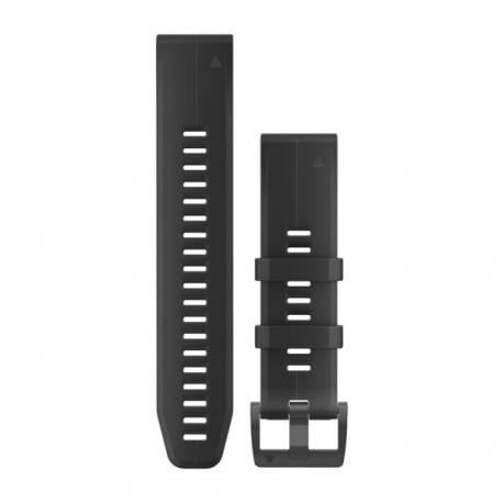 Silikonowy pasek QuickFit Fenix 5 Czarny 22mm