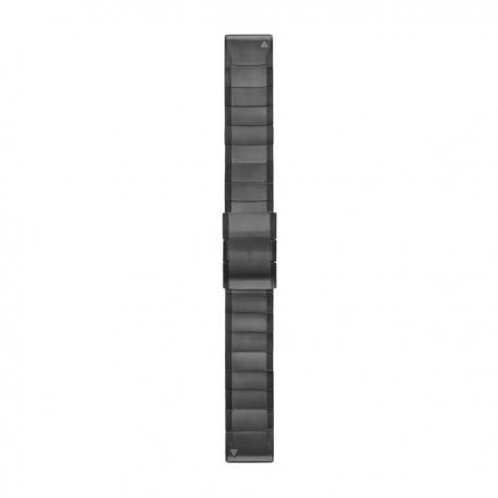 Bransoleta Carbon Gray DLC Titanium QuickFit 22mm Fenix 5