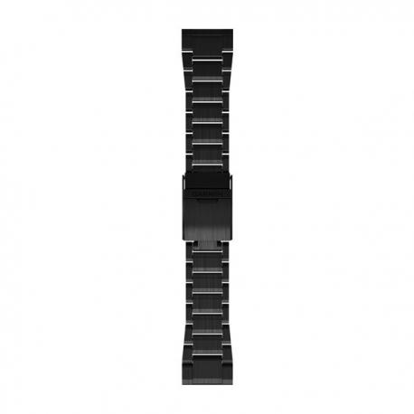 Bransoleta Czarna DLC Titanium QuickFit 26mm Fenix 5x