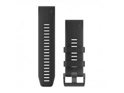 Silikonowy pasek QuickFit Fenix 5X Czarny 26mm