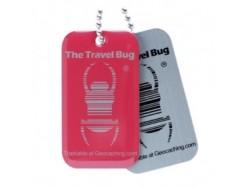 QR Travel Bug® - Różowy