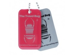 QR Travel Bug? - Różowy