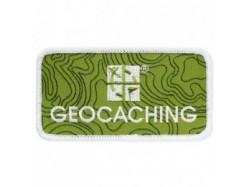 Naszywka Geocaching.com LOGO PATCH z rzepem