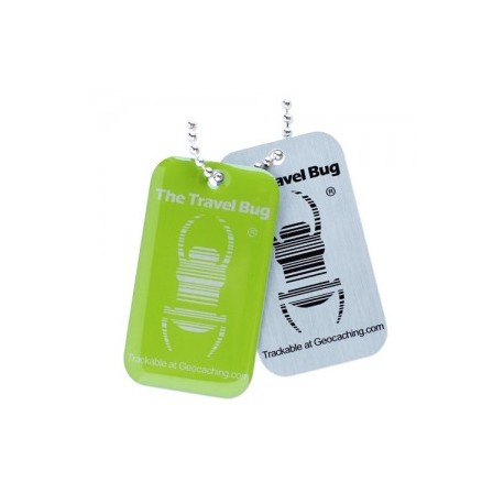 QR Travel Bug - Zielony
