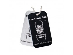 QR Travel Bug® - Czarny