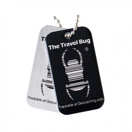 QR Travel Bug? - Czarny