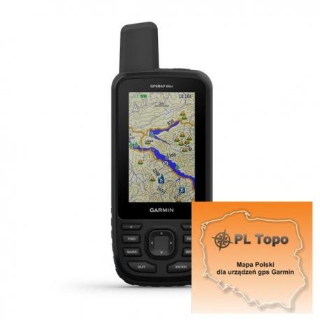 GPSMAP 66st z PL TOPO 2018.2
