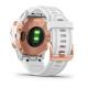 Fenix 6s Pro Różowozłoty z białym paskiem