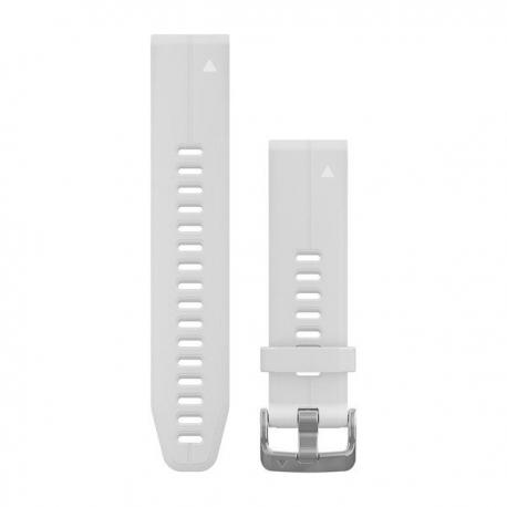 Silikonowy pasek QuickFit Fenix 5s Biały 20mm
