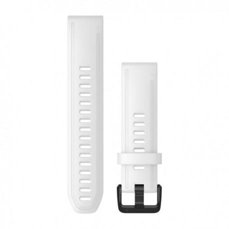 Silikonowy pasek QuickFit Fenix 6s Biały 20mm