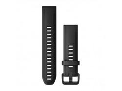 Silikonowy pasek QuickFit Fenix 6s Czarny 20mm