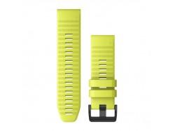 Silikonowy pasek QuickFit Fenix 6x Żółty 26mm