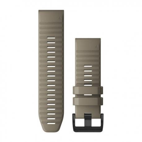 Silikonowy pasek QuickFit Fenix 6x Ciemnopomarańczowy 26mm