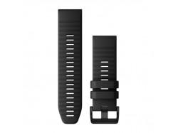 Silikonowy pasek QuickFit Fenix 6x Czarny 26mm