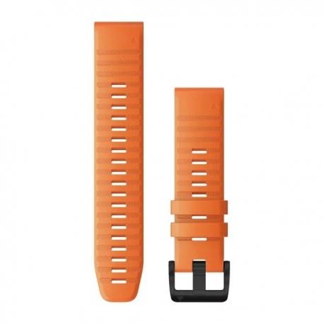 Silikonowy pasek QuickFit Fenix 6 Czarny 22mm