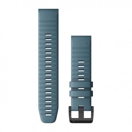 Silikonowy pasek QuickFit Fenix 6 Stalowoniebieski 22mm