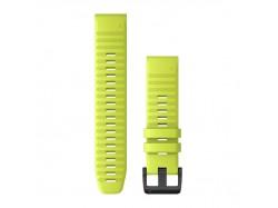 Silikonowy pasek QuickFit Fenix 6 Żółty 22mm