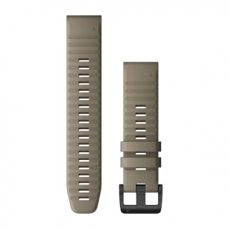 Silikonowy pasek QuickFit Fenix 6 Ciemny piaskowy 22mm