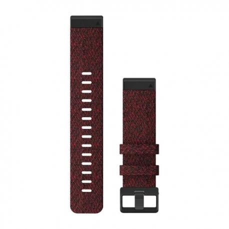 Skórzany pasek QuickFit Fenix 5 Czarny 22mm