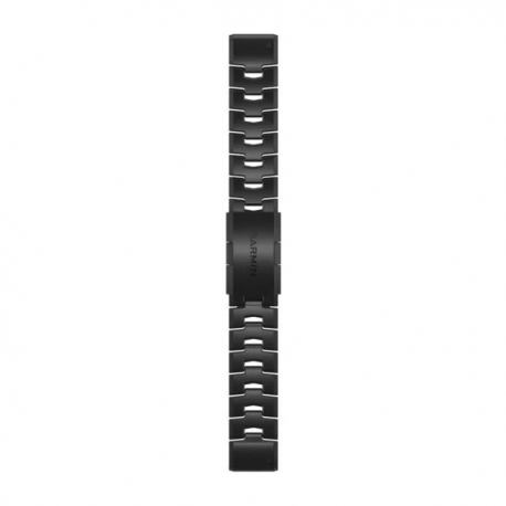 Bransoleta z otworami i szarą powłoką węglową DLC QuickFit Fenix 6 26mm