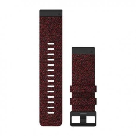 Nylonowy pasek QuickFit Fenix 6x Fioletowo-czerwony 26mm