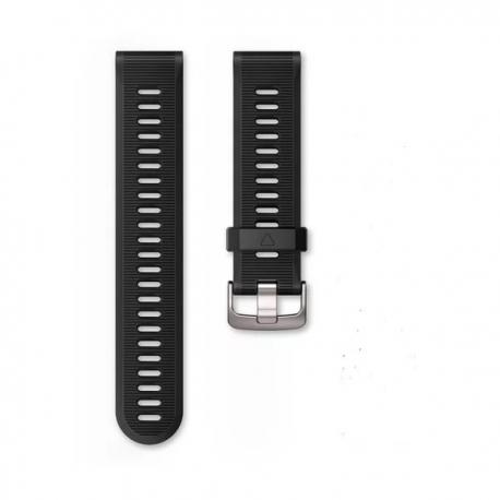 Silikonowy pasek QuickFit Fenix 5 Granitowy 22mm