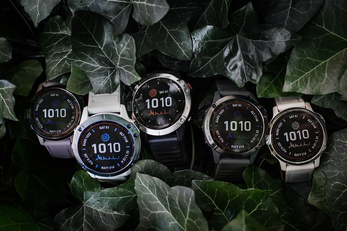 technologia ładowania zegarka garmin energią słoneczną