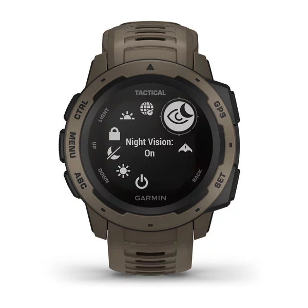 garmin instinct tactical jasnobrązowy