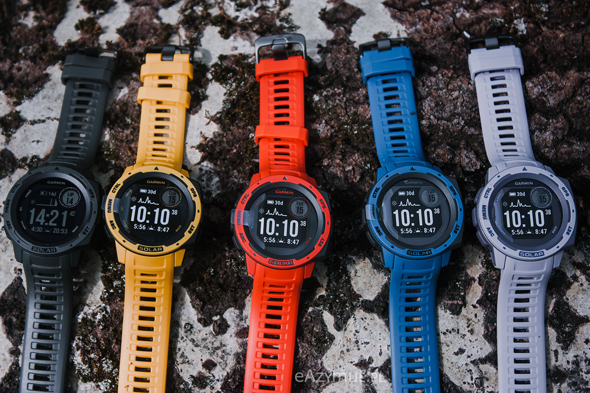 technologia solarna w zegarkach garmin