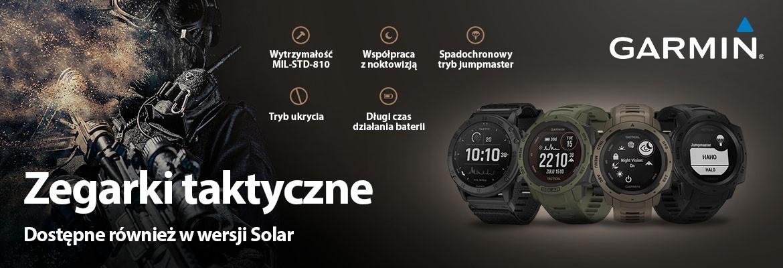 Zegarki taktyczne Garmin